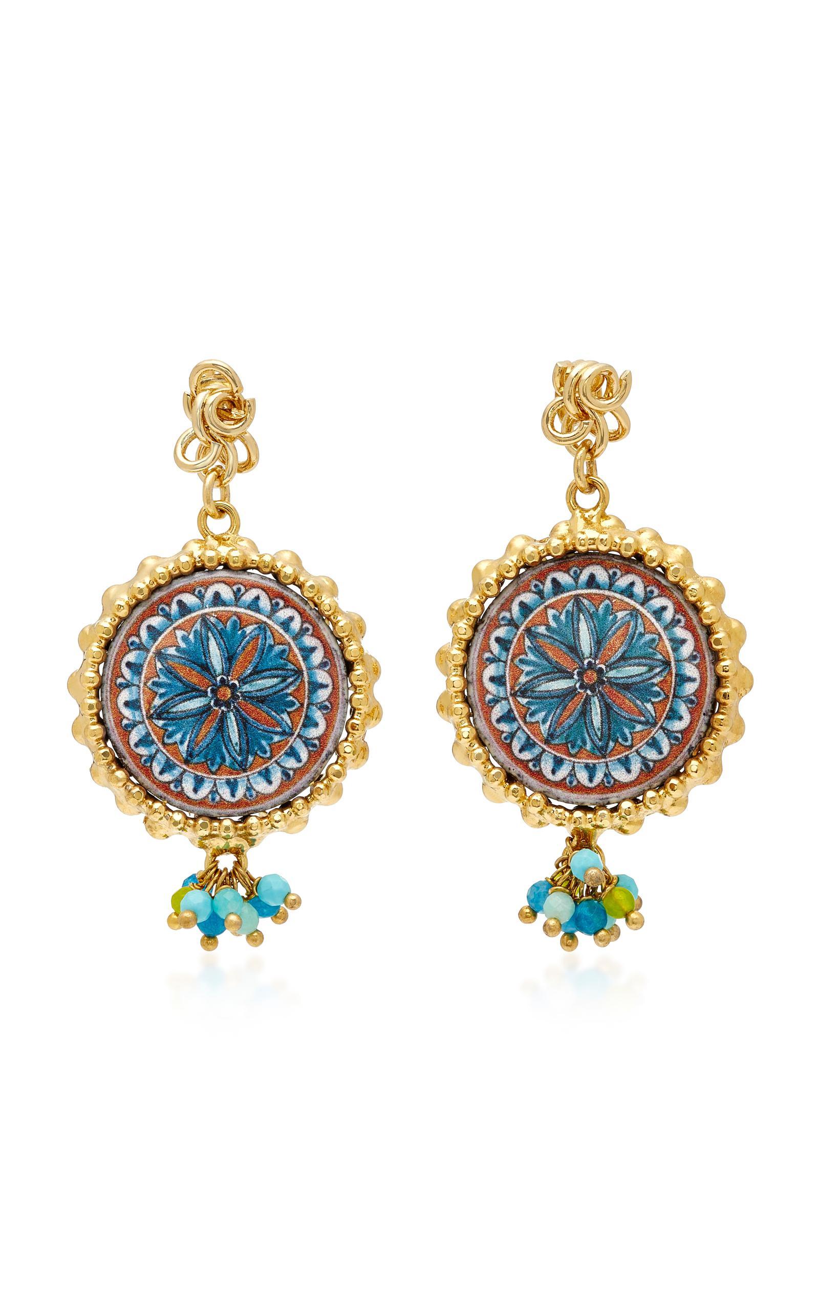 Rosantica Ciucciue face & tile drop earrings 13zN2QSfnH