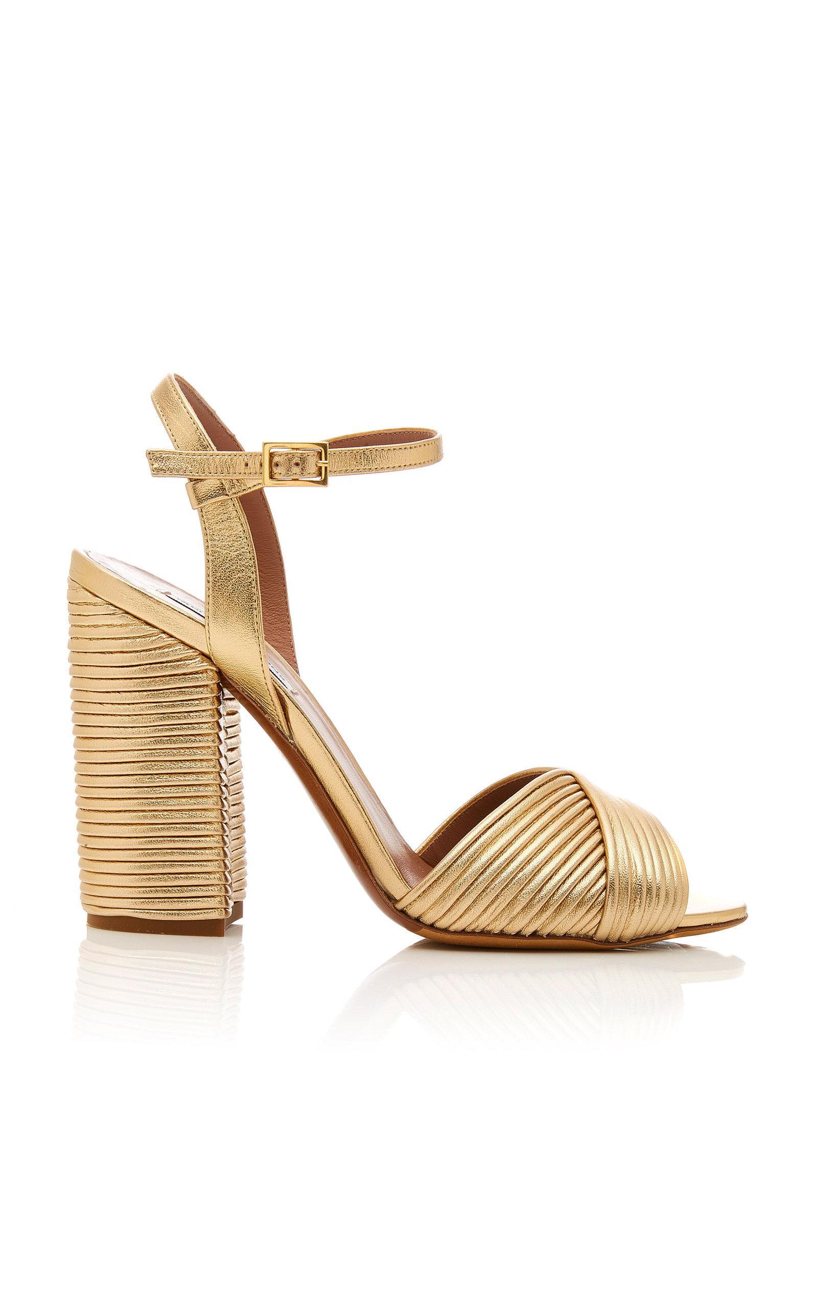 Kali Metallic Leather Sandals Tabitha Simmons Discount Shopping Online 4Gf3Ze8c0