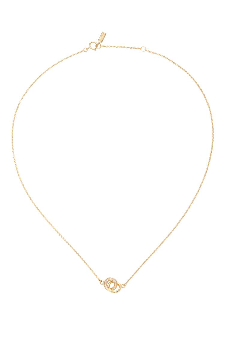 Efva Attling Mini Twosome & Stars Necklace in Gold (Metallic)