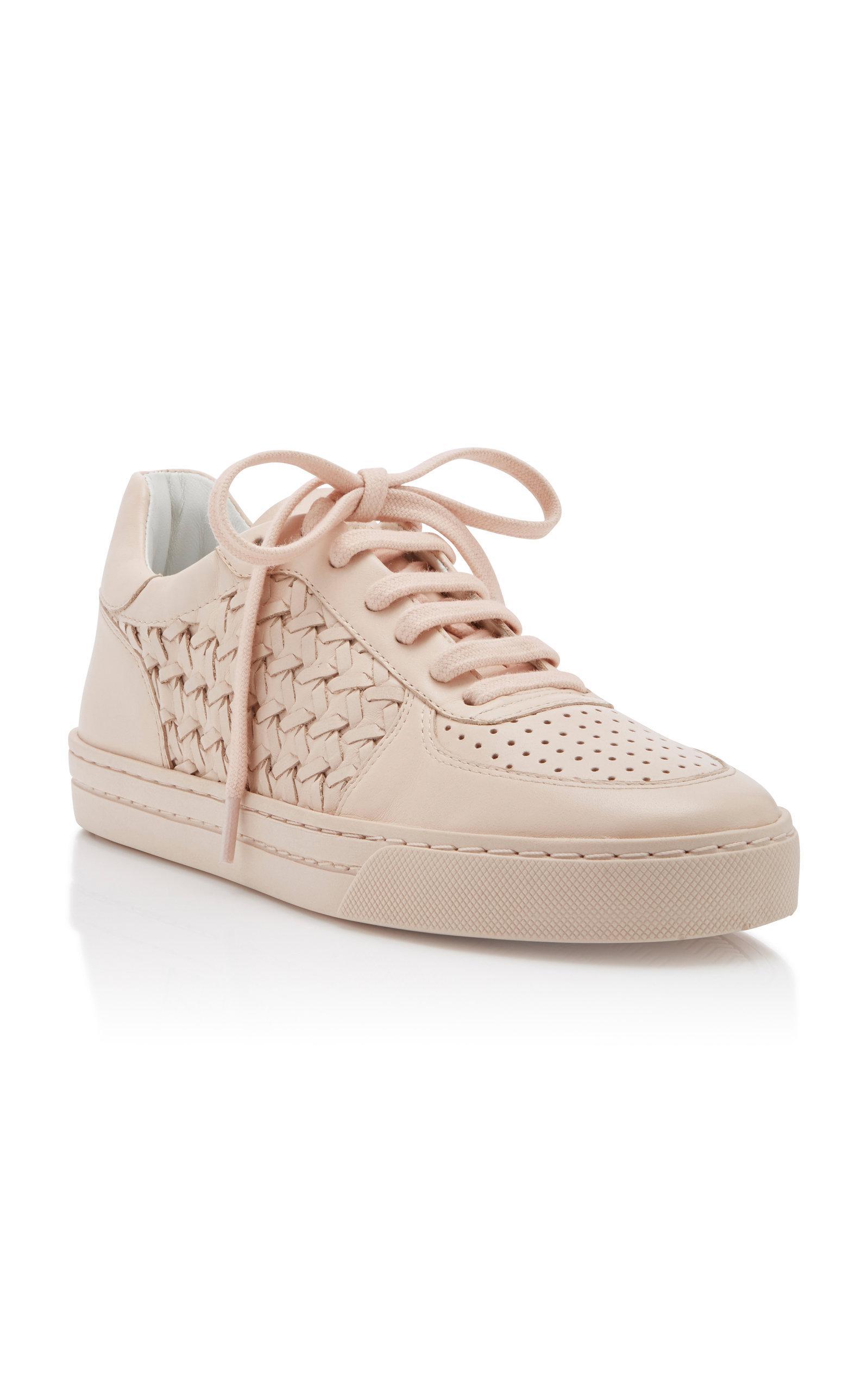 Zimmermann Leather Woven Sneaker