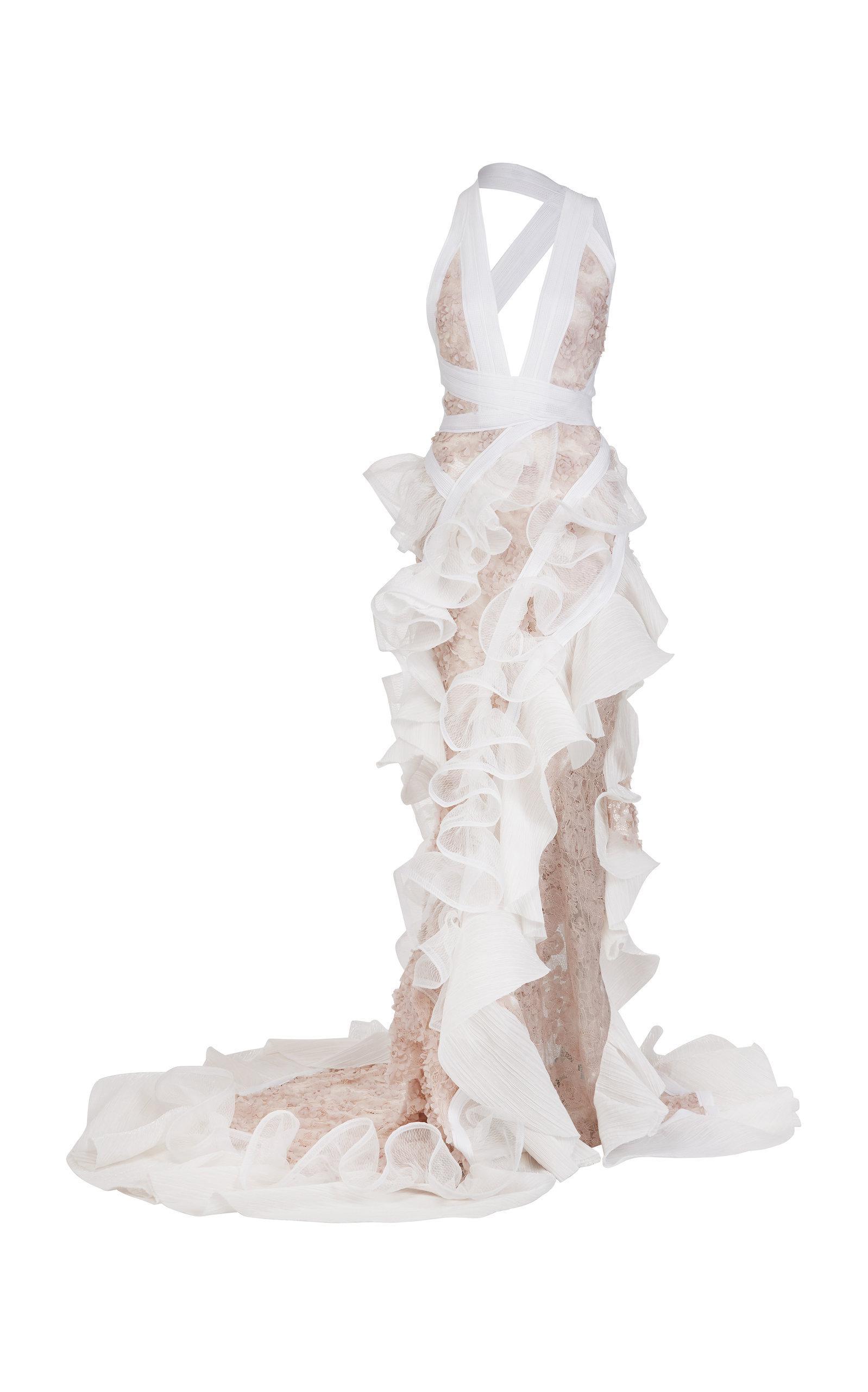 Mantilla Lace Gown Maticevski hJKDfpNLM