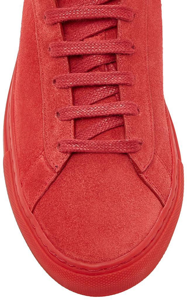 KOIO Capri Flamma Suede Sneaker in Red