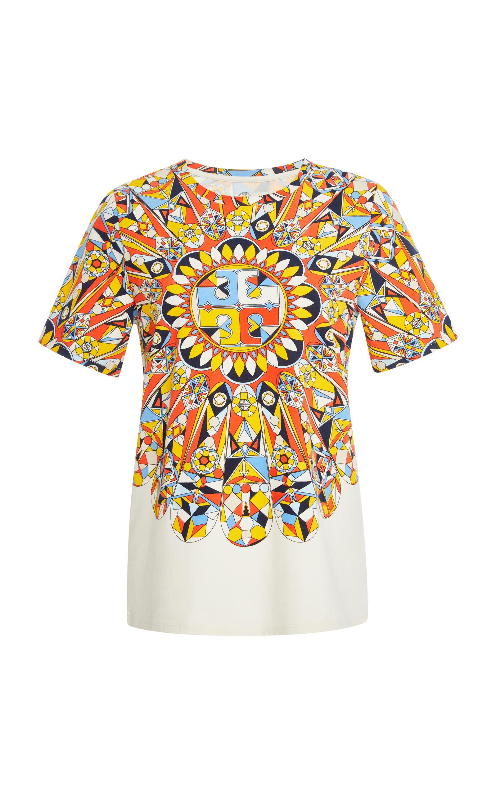 Lyst tory burch keaton t shirt for Tory burch t shirt