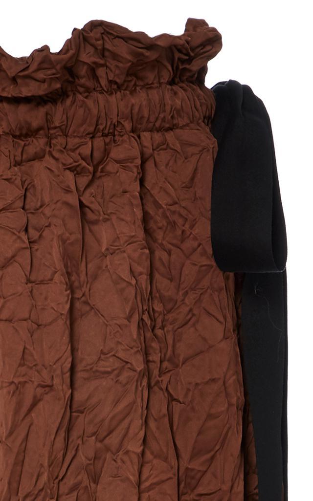 Baibi MULHER Brown straight skirt love