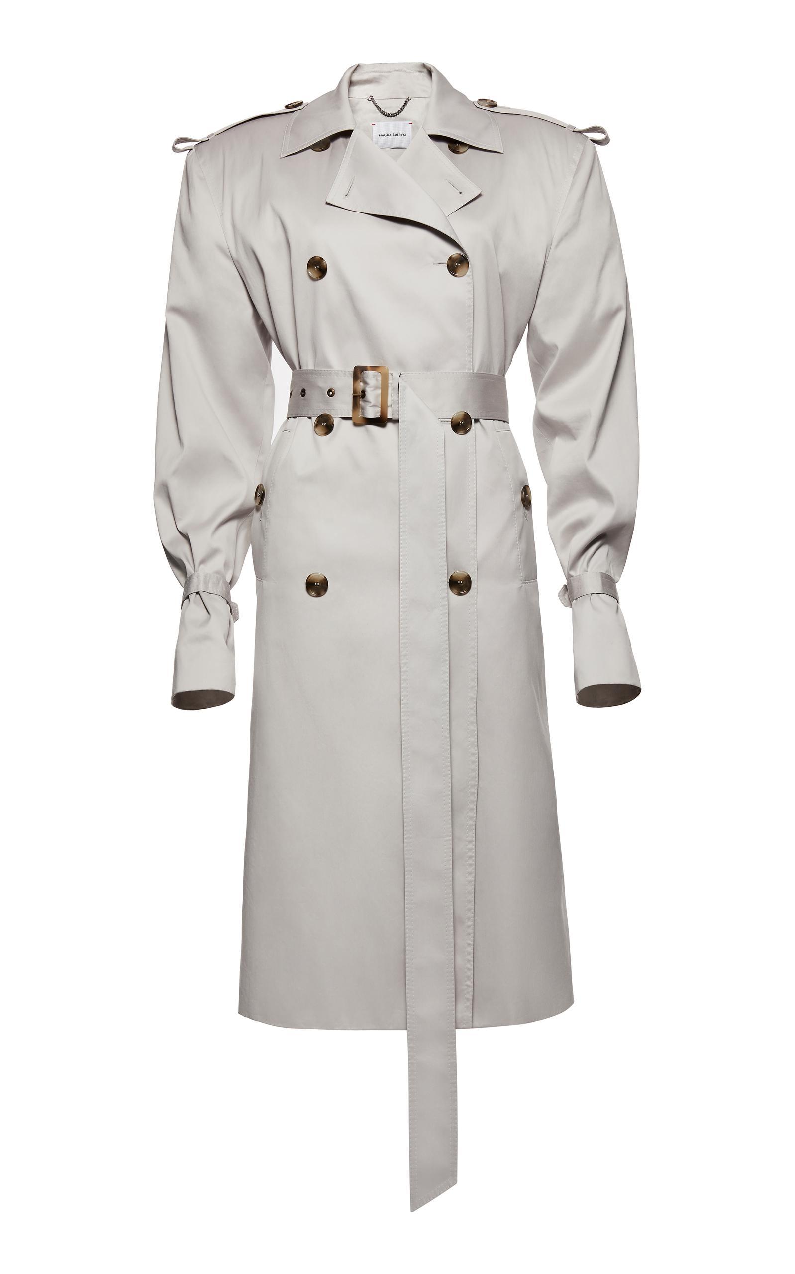 Lyst Magda Butrym Ulm Coat In Gray