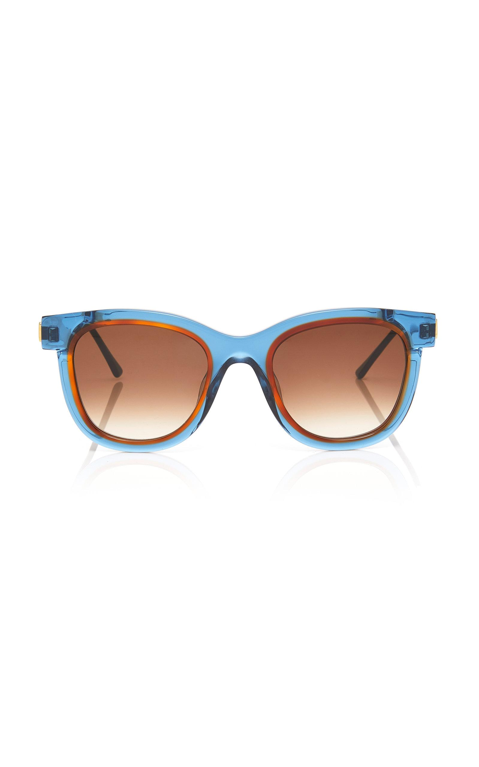 7302fb5852 Lyst - Thierry Lasry Savvvy Square-frame Acetate Sunglasses in Blue
