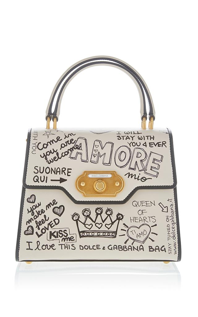 69371e70cc Dolce   Gabbana Amore Top Handle Bag in White - Save 50% - Lyst