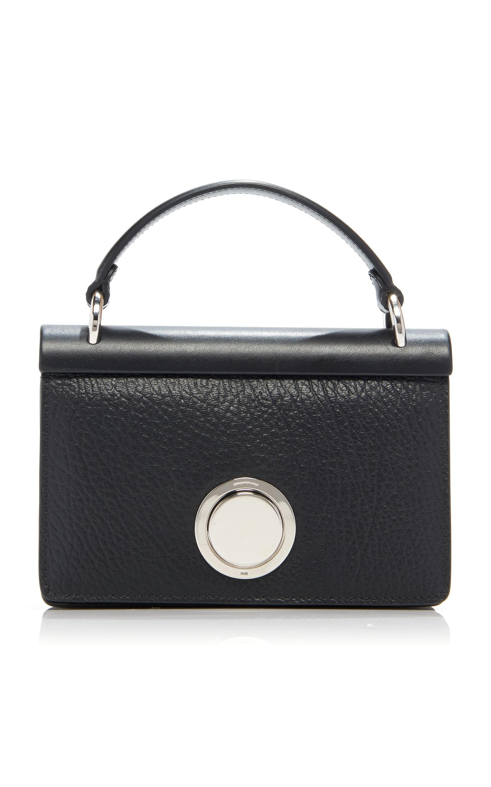 7e04c81e21f Giambattista Valli Valli Mini Leather Bag in Black - Lyst