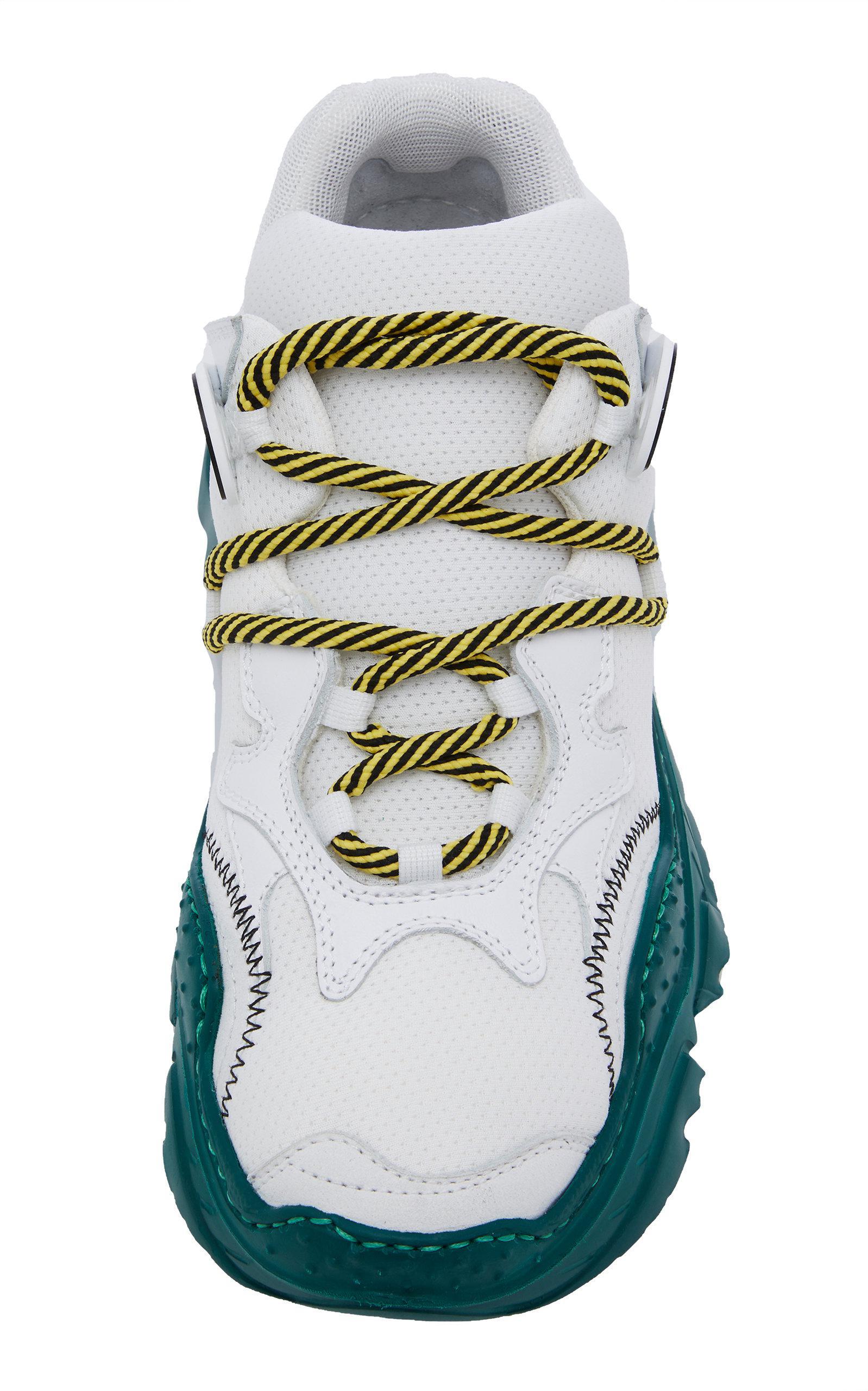 N°21 Leather Billy Sneaker in Green