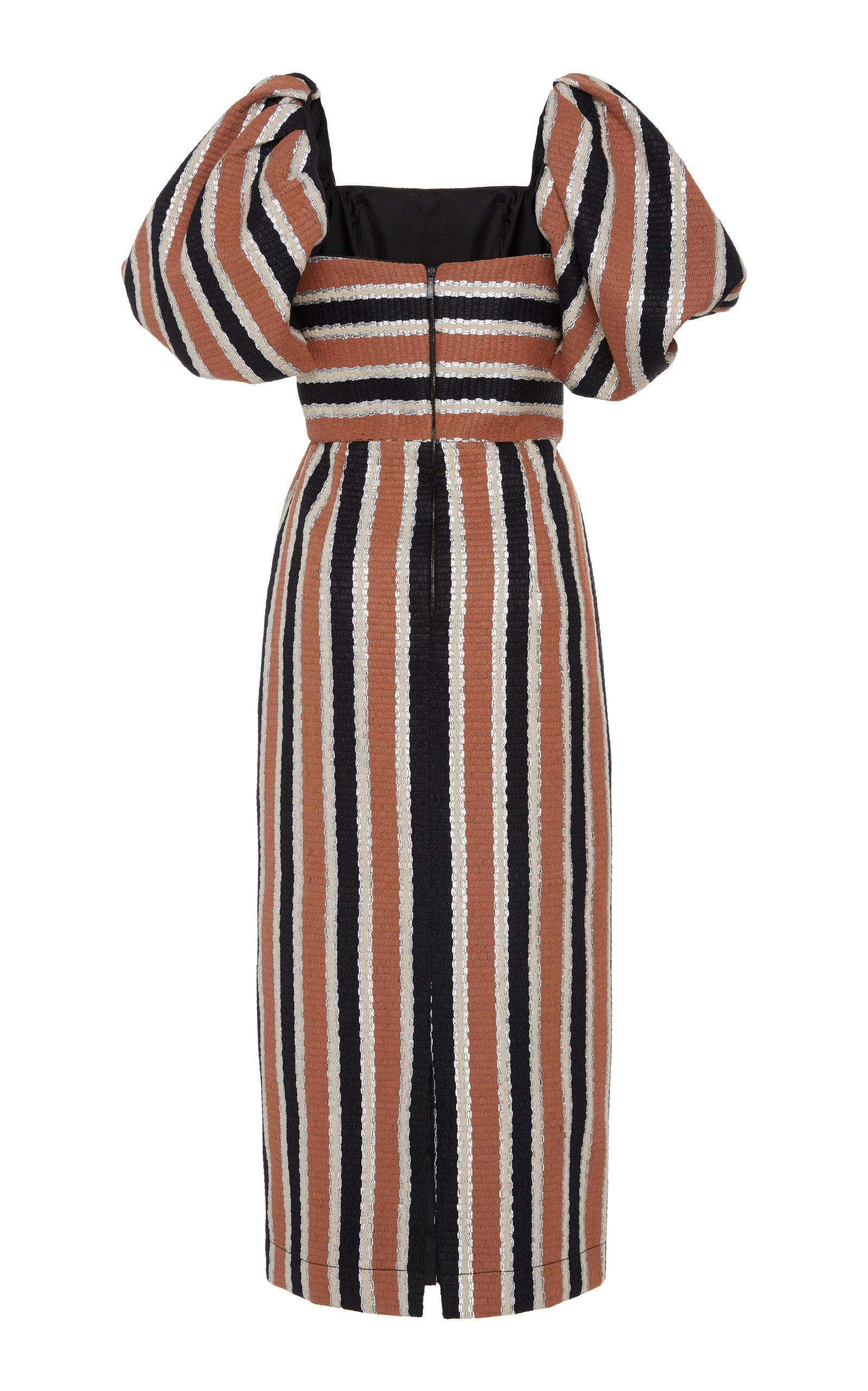 Whitegeese Womens Casual Loose Ankle Length Striped Cami Maxi Dresses Dres