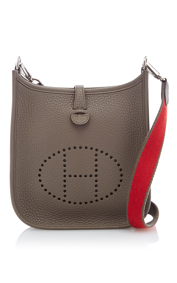 Heritage auctions special collection Hermes Etain Clemence Leather ...