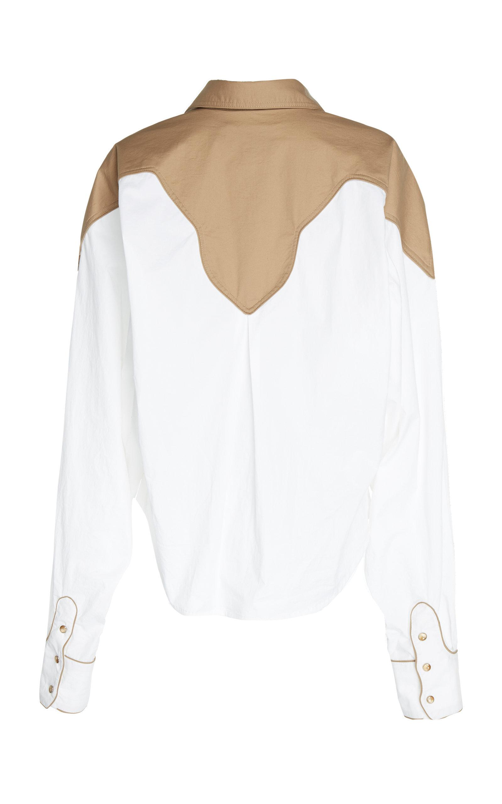 Buy Cheap Very Cheap Deals Cheap Price Stretch Cotton Poplin Mapale Shirt Johanna Ortiz Factory Outlet Cheap Price Outlet Classic Cheap Sale Huge Surprise 9ocG6Ox