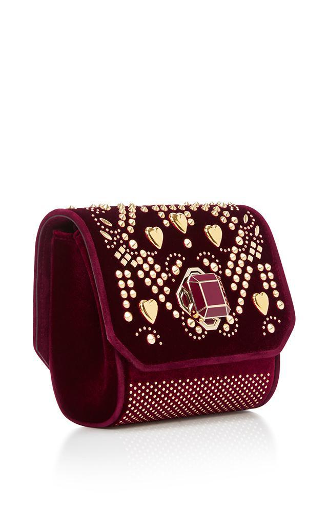 Elie Saab Velvet Mini Cross Over Bag
