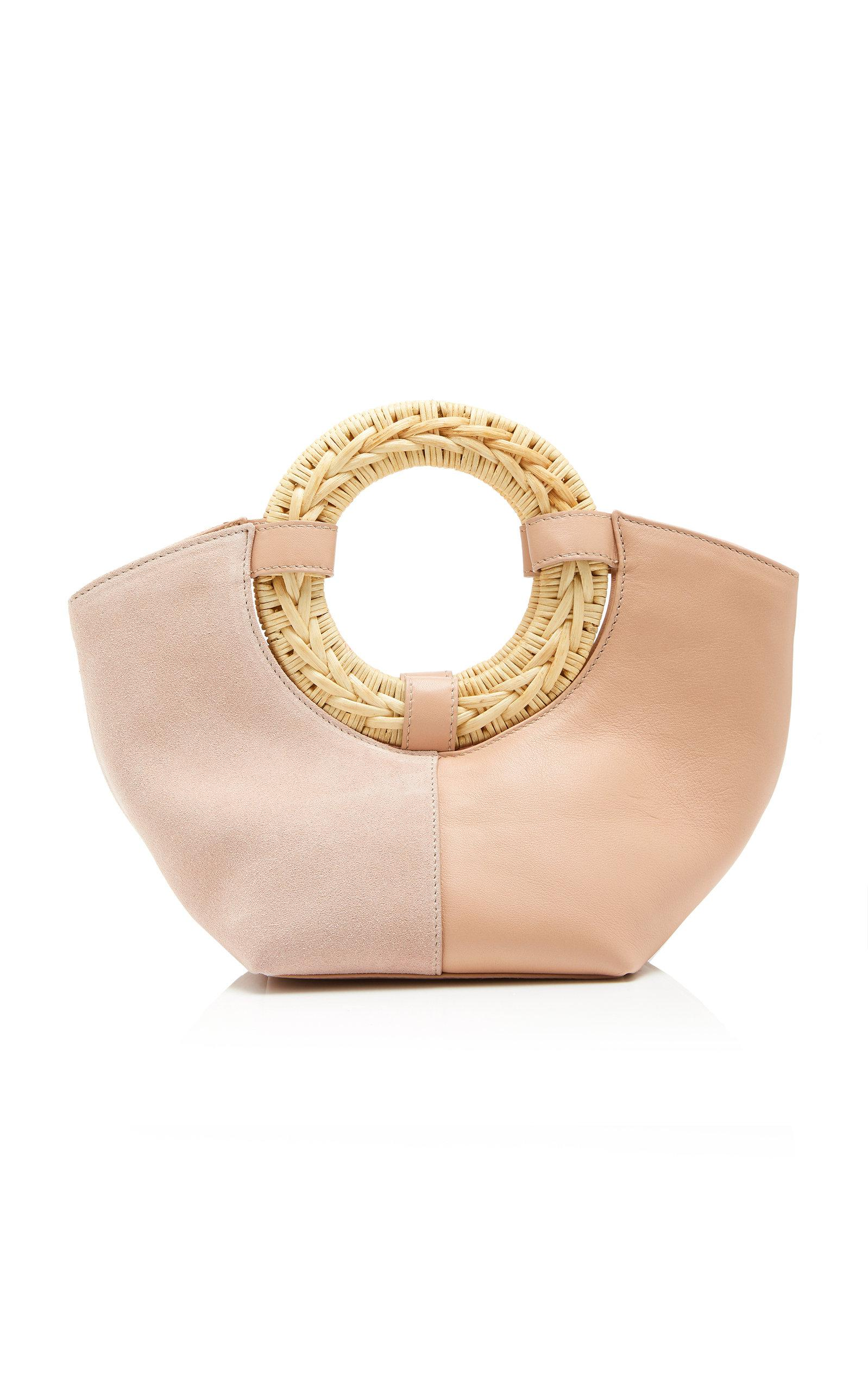 6a8cf0c55b8 Lyst - Ulla Johnson Axis Mini Leather Tote in Pink