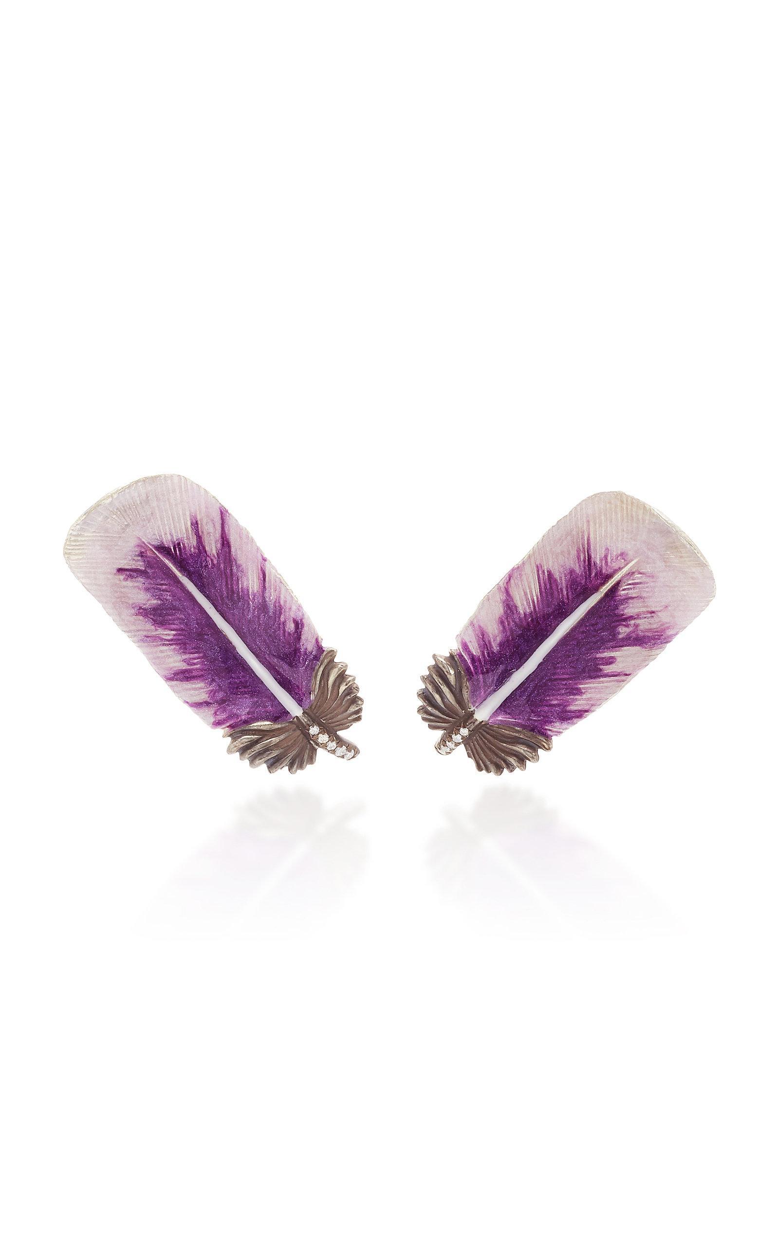 Kate Spade New York Women/'s Sunset Blooms Gold Crystal Fan Dangling Earrings