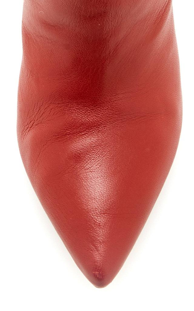 Ulla Johnson Suede Jerri Boot in Burgundy (Red)