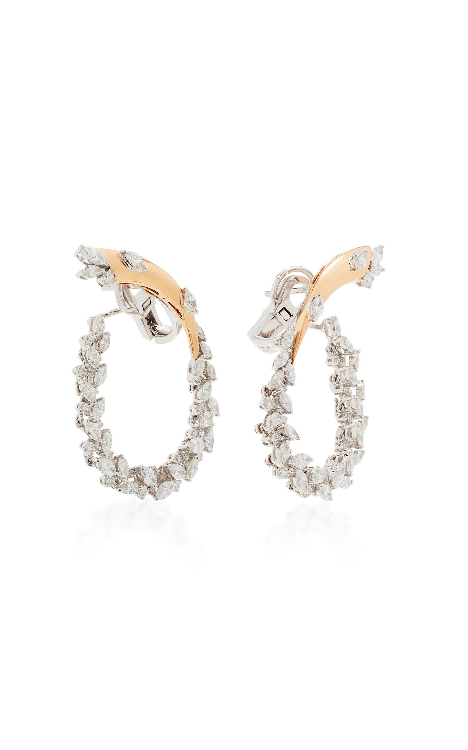 Chevalier Hoop With Extension Earrings Yeprem Bwtgf4uYaM