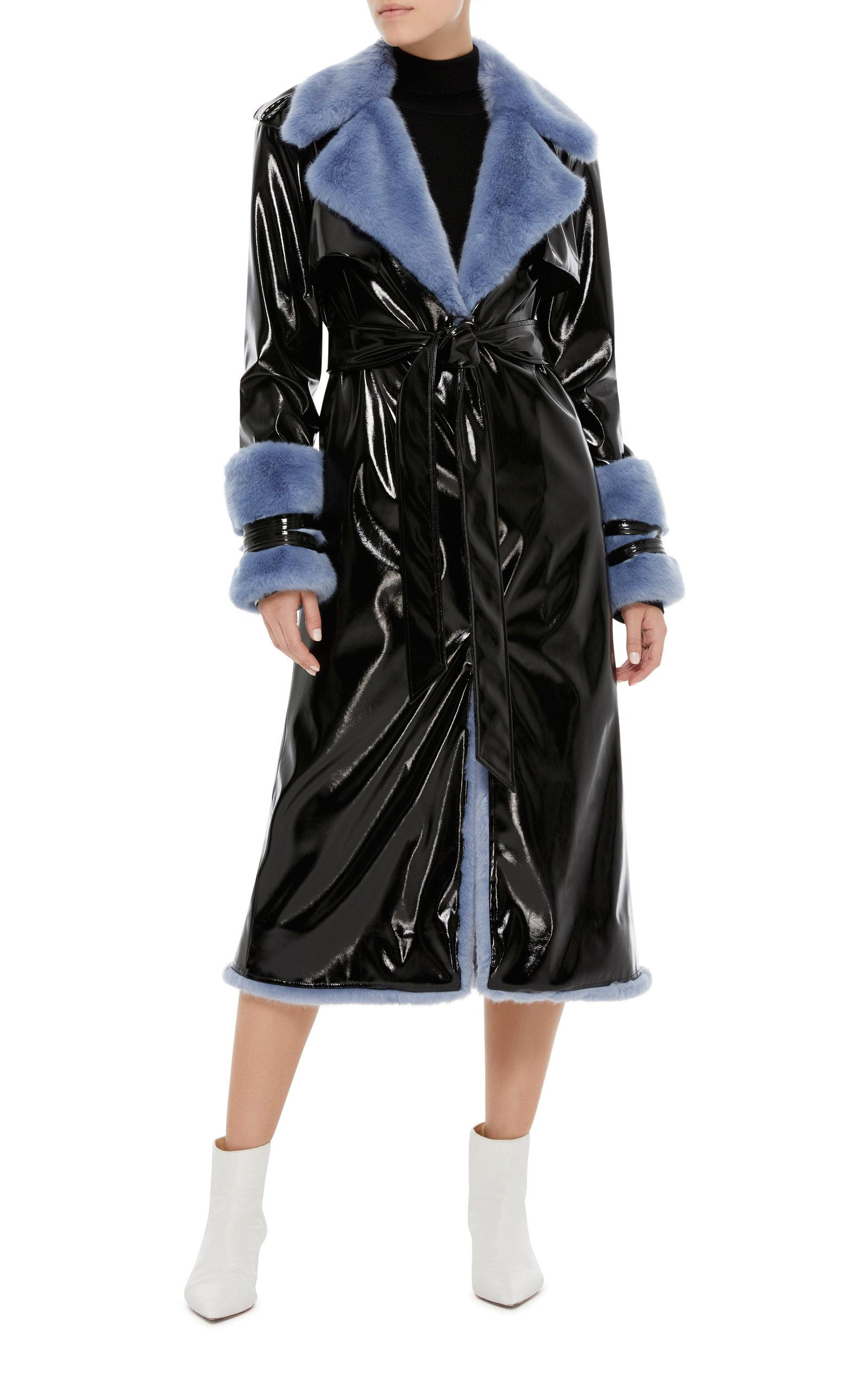 Sarina SARINA Ladies Trench Coat Leather TAN MID LEGTH CLASSIC REAL LEATHER