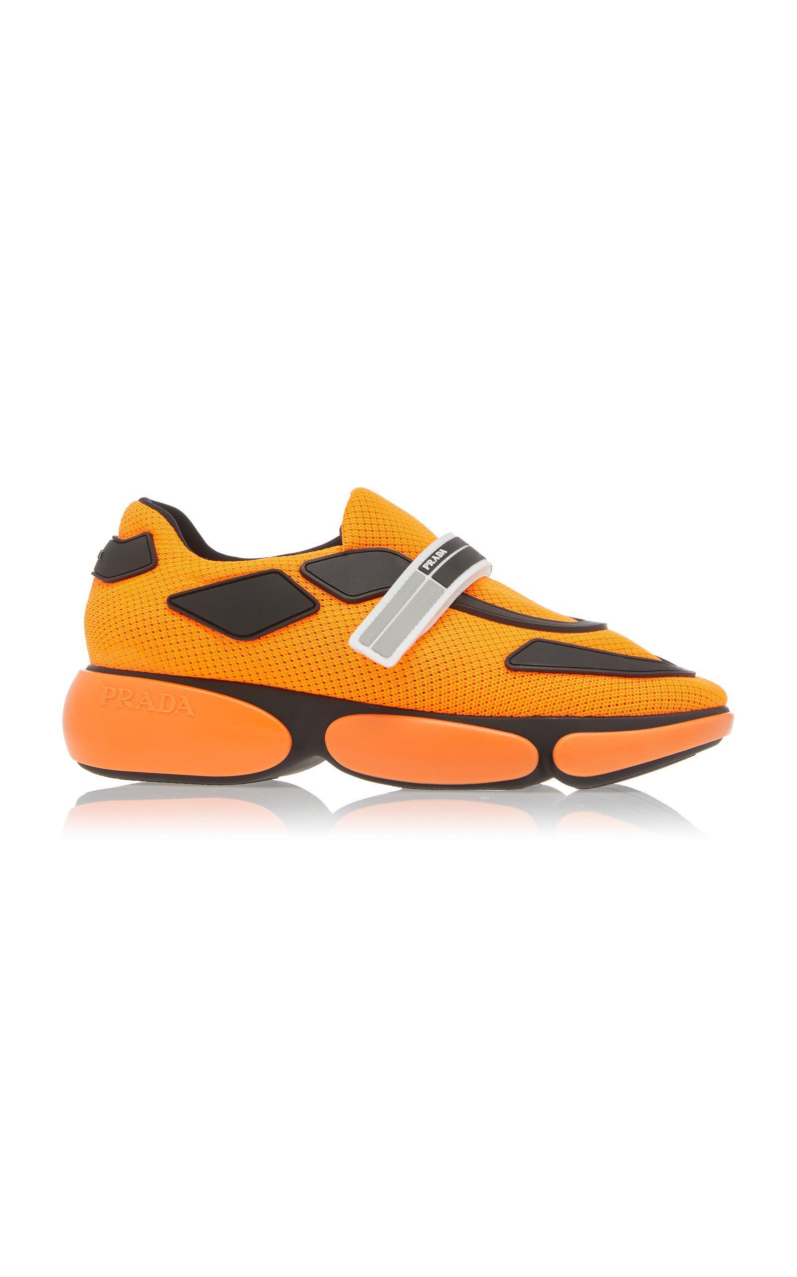 Prada Synthetic Allacciate Sneaker in
