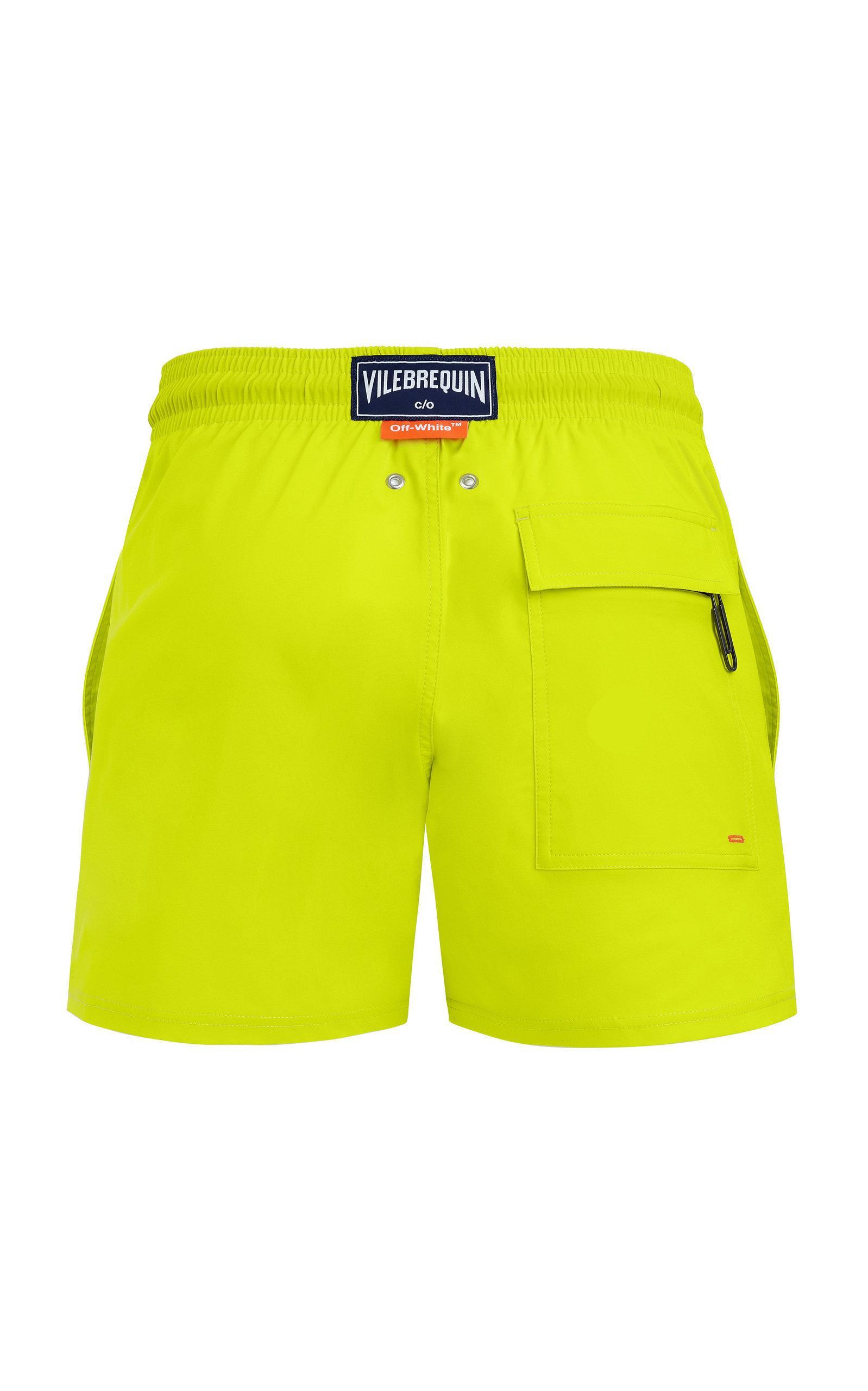 da2bf4ac61 Off-White c/o Virgil Abloh - Yellow Vilebrequin Edition Moorise Swim Shorts  for. View fullscreen