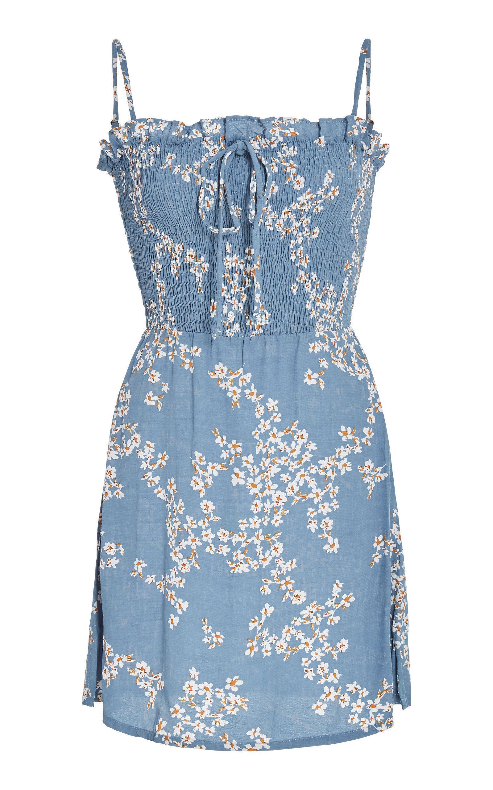 Marni Shirred Dress Faithfull The Brand wCyfB