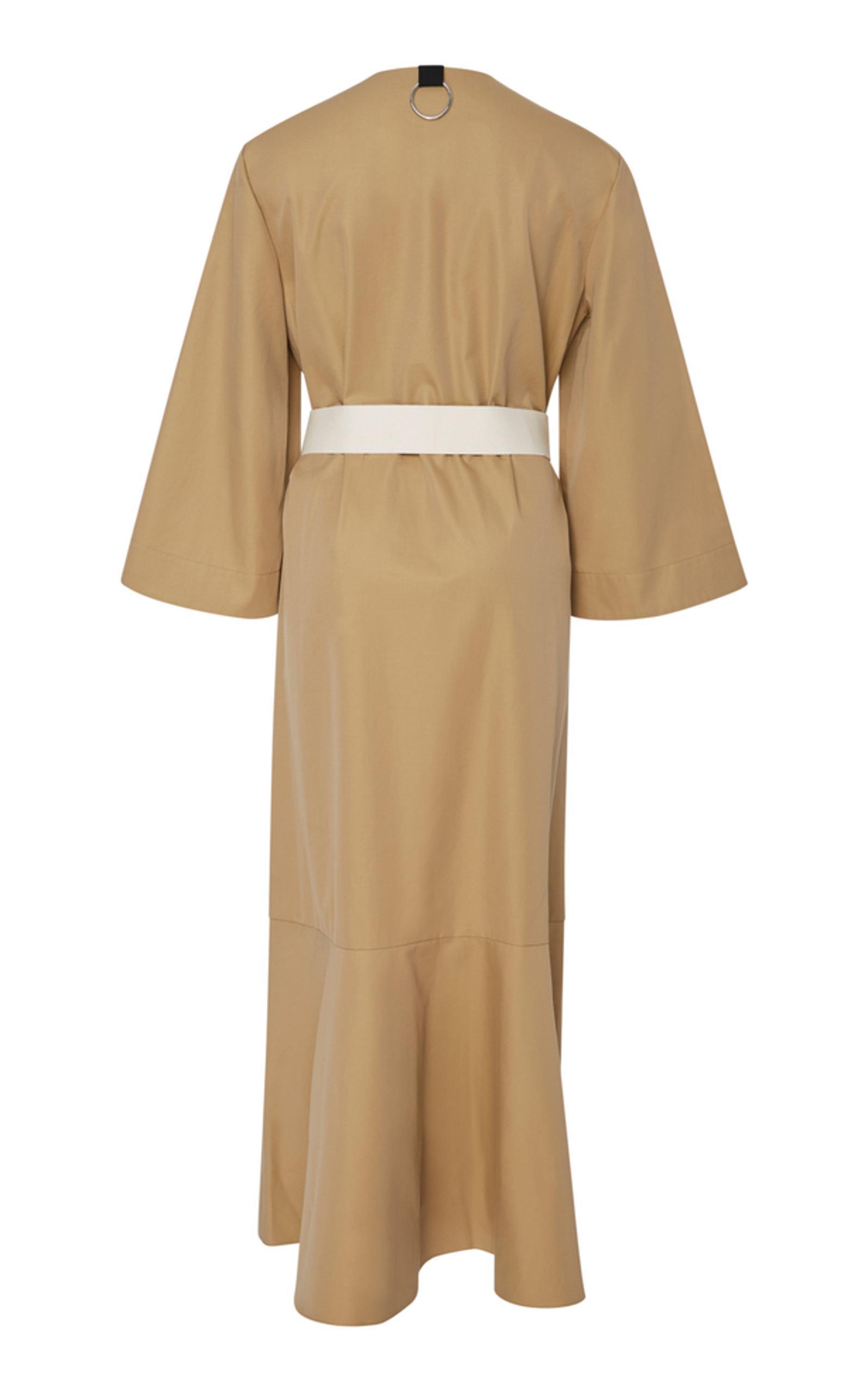 229fa719d96 Tibi - Natural Finn Trench Dress - Lyst. View fullscreen