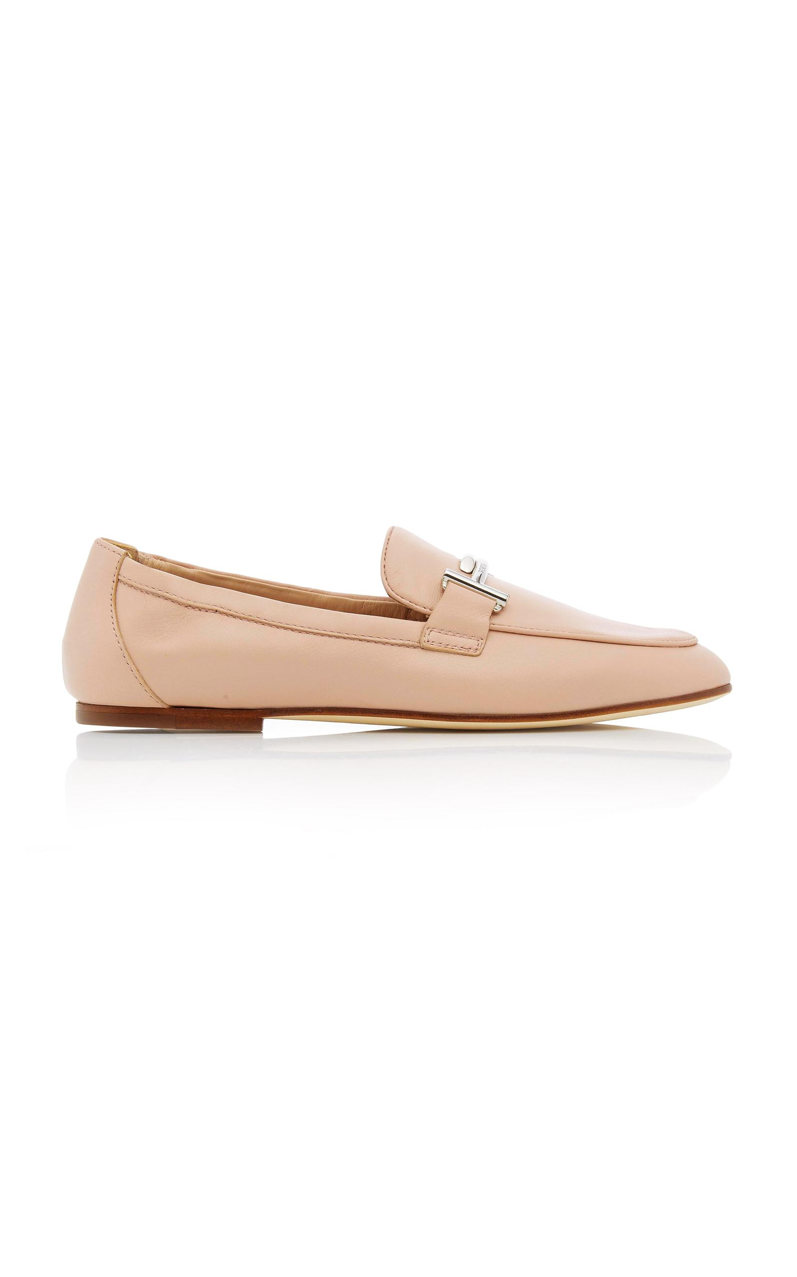 44328abcd35 Lyst - Tod S M o Exclusive  Leather Sole Loafer in Pink