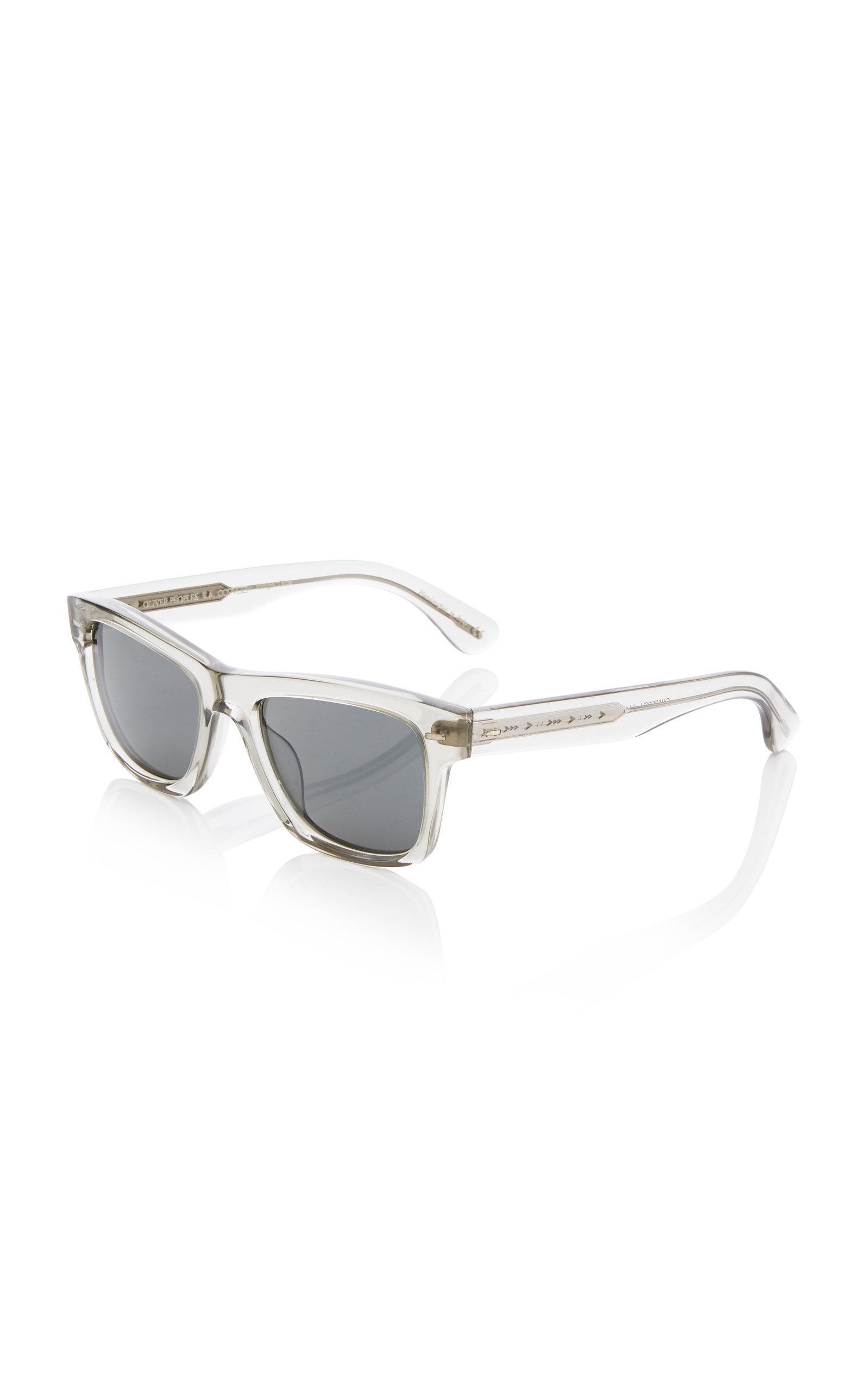 85e892728d439 Oliver Peoples - Multicolor Oliver Sun Square-frame Acetate Sunglasses for  Men - Lyst. View fullscreen