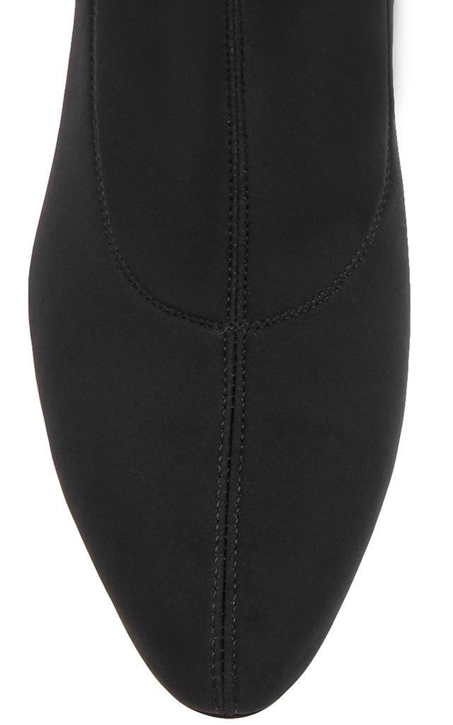 Giuseppe Zanotti Neoprene Bimba Stretch-knit Ankle Boots in Black
