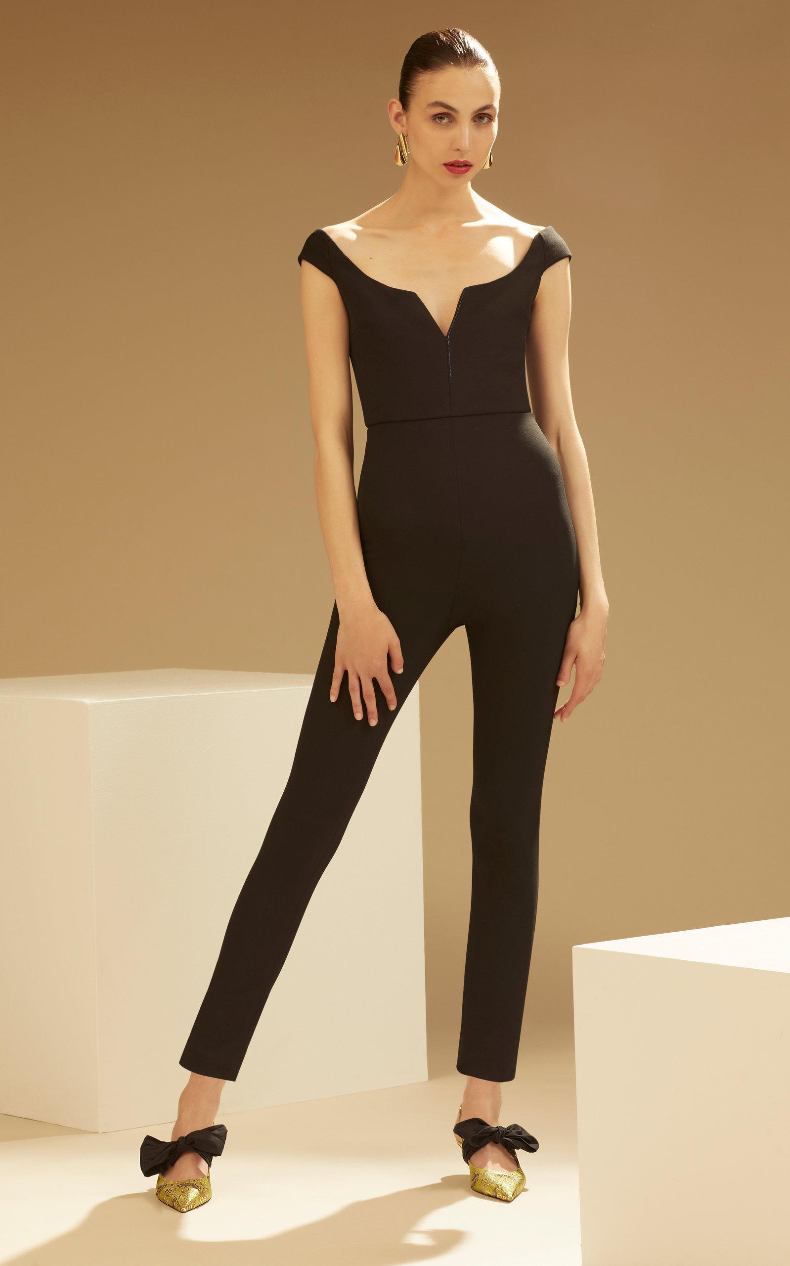 9d9ba8aa7c4 Gallery. Previously sold at  Moda Operandi · Women s Black Jumpsuits ...