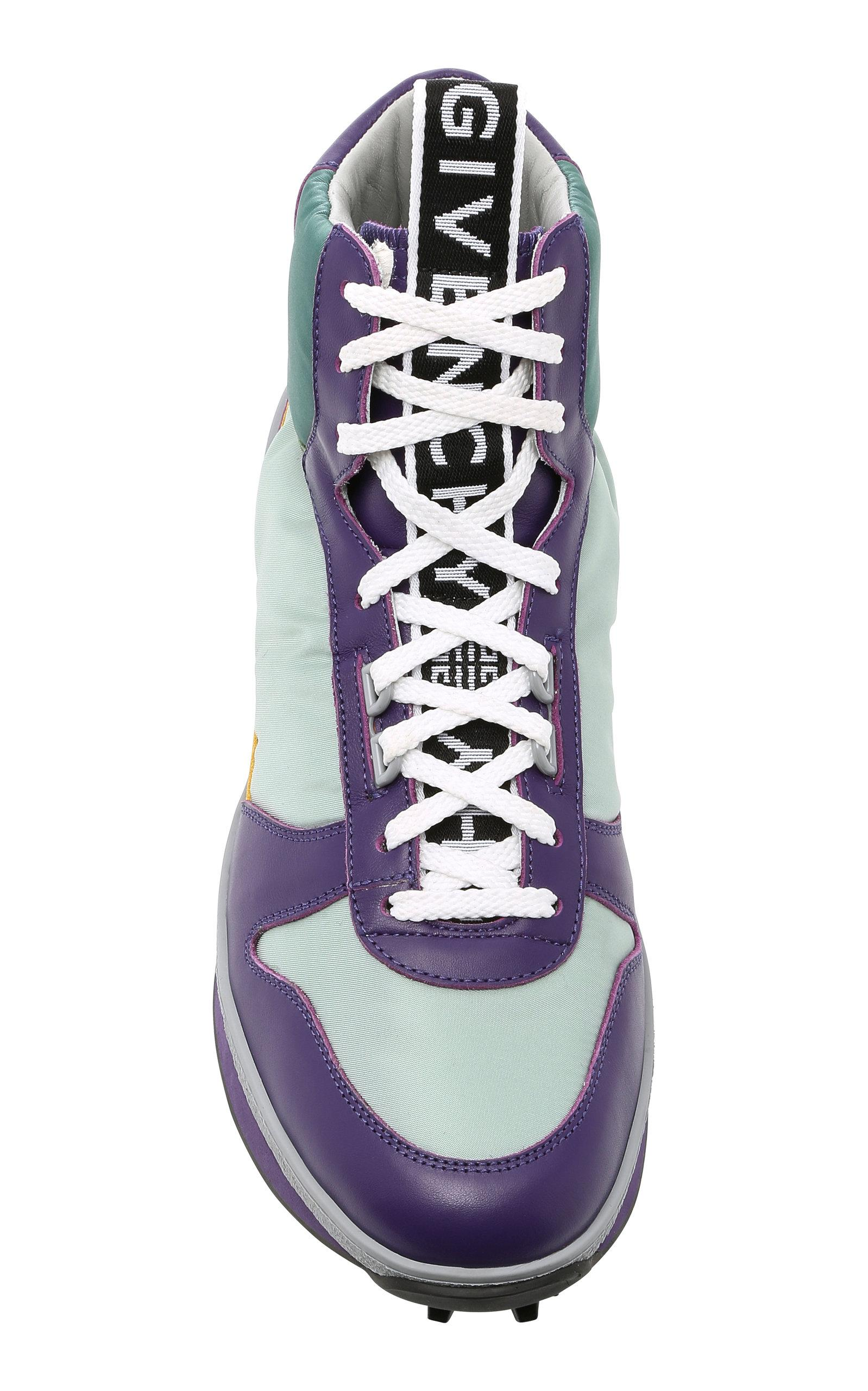 Givenchy Leather Tr3 High-top Sneakers