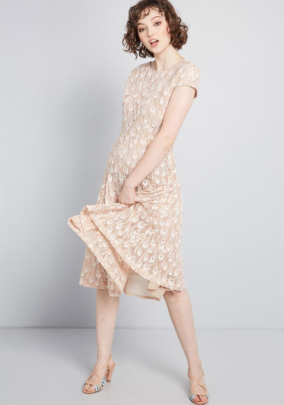 Louche Lace A Lyst Of In Feather Dress Pink zMVpSUq