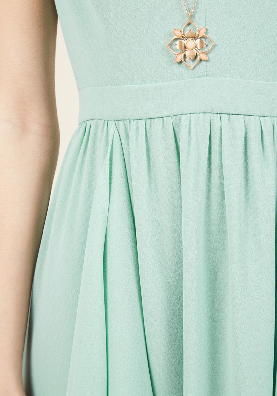 d05a968c19 Appareline As Ruffles Ripple Maxi Dress In Seafoam in Green - Lyst