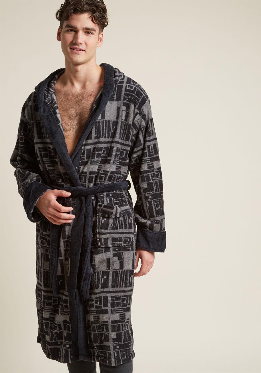 Lyst - Modcloth Empire Attire Men\'s Star Wars Robe in Black for Men