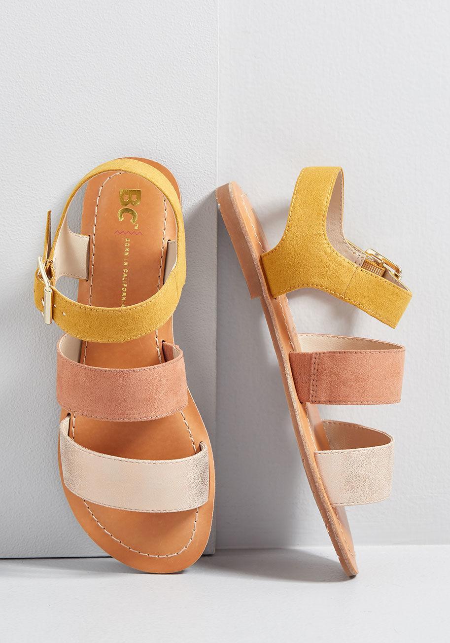 c404d47bcd5 Lyst - BC Footwear Daytime Divine Vegan Sandal - Save 29%