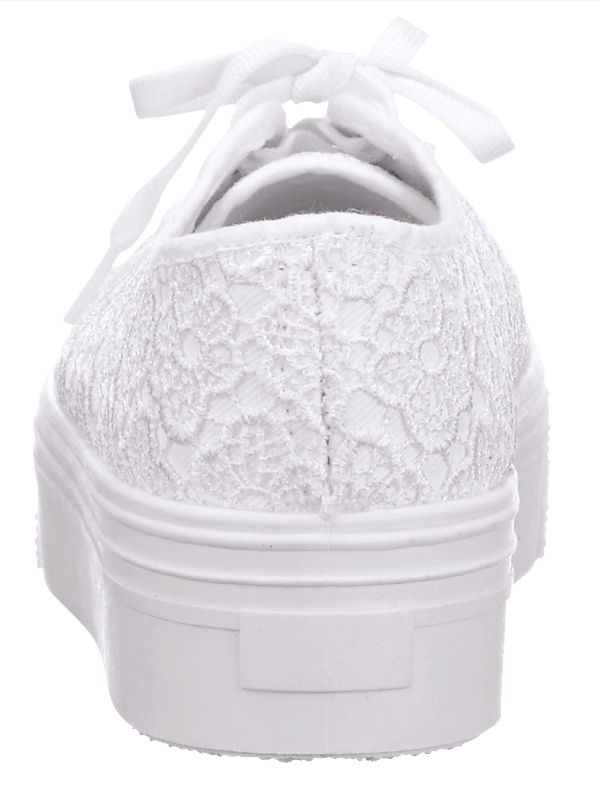 KLiNGEL Veterschoen Wit in het Wit voor heren