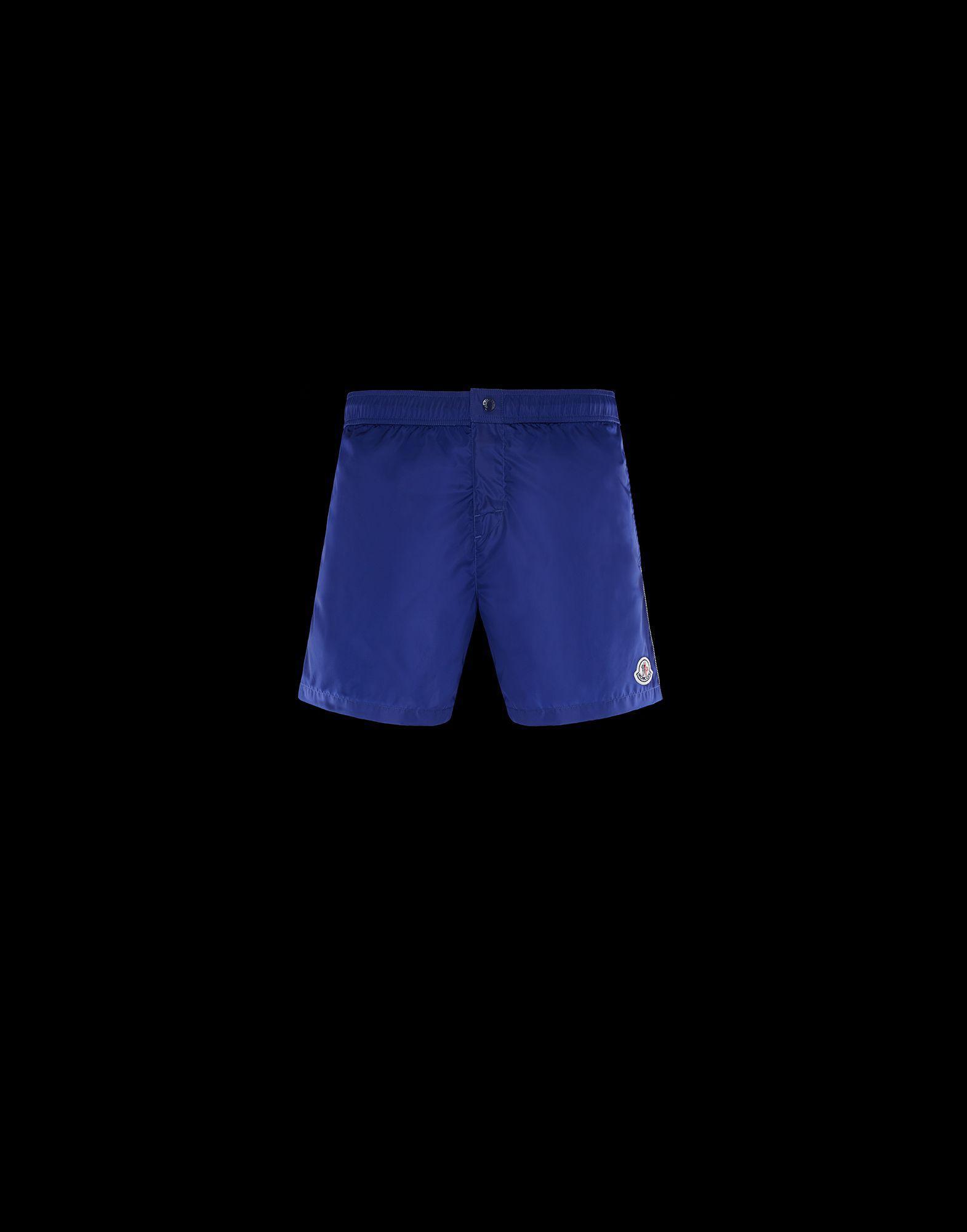 28a5d665d0b3 Moncler Boxer Shorts in Blue for Men - Lyst