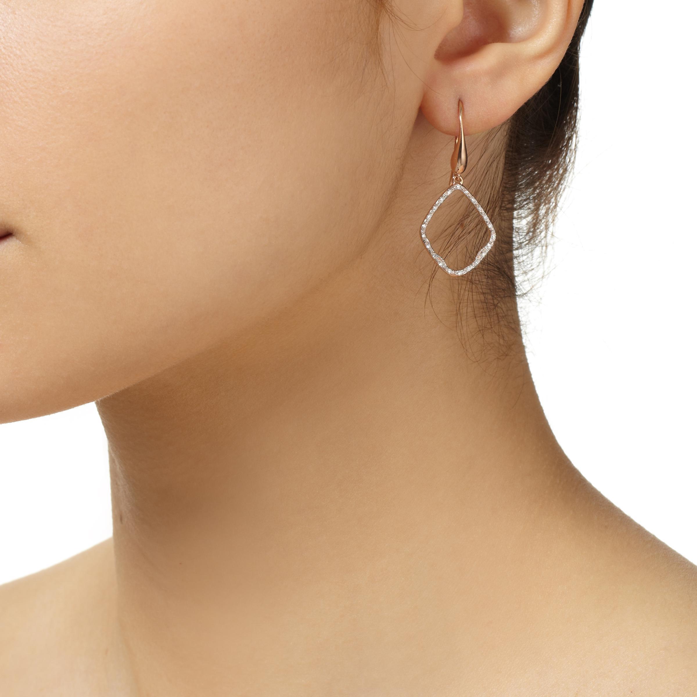 Monica Vinader Riva Pod Gold Vermeil Diamond Earrings myvGlephC
