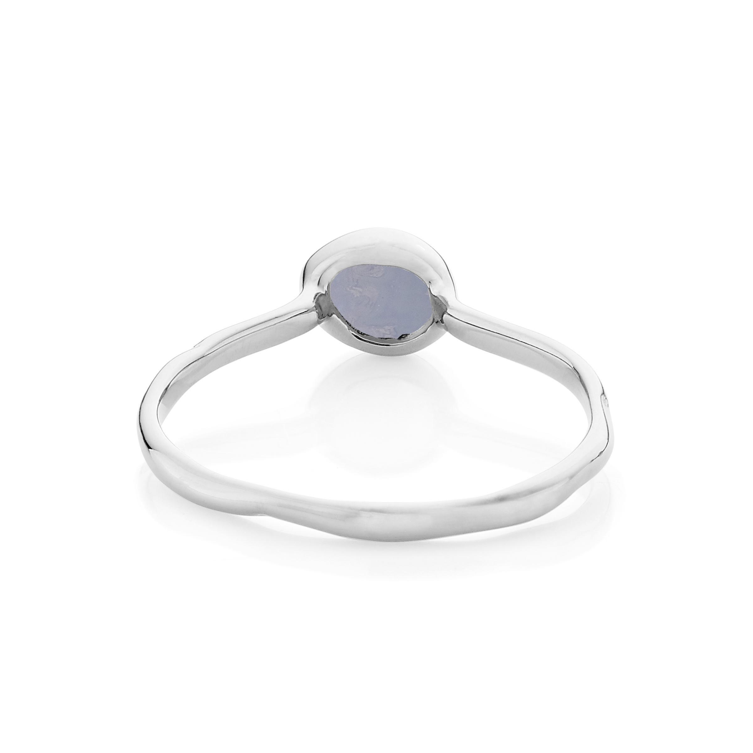 Women's Blue Siren Stacking Ring