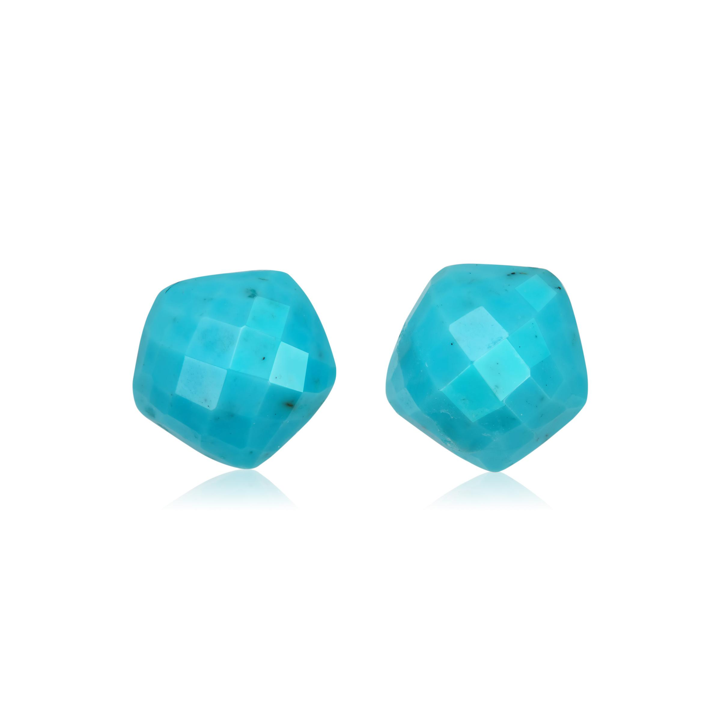 cf370d387d64f Monica Vinader Multicolor Nura Nugget Stud Earrings