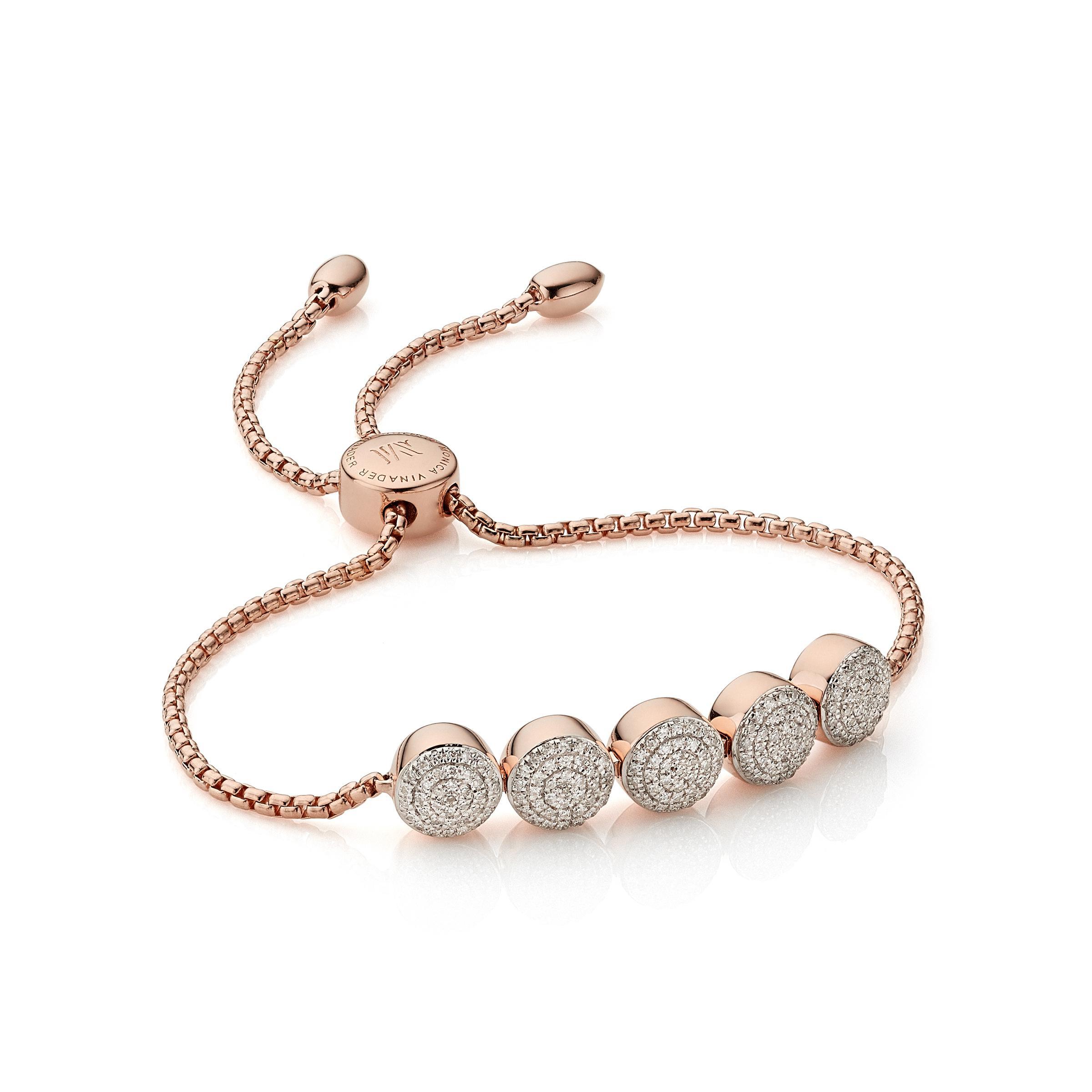 f6c631a53b748 Women's Fiji Button Friendship Chain Bracelet