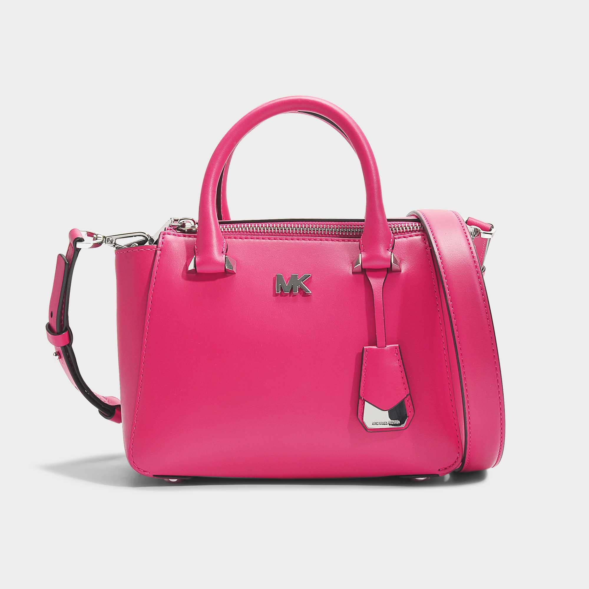 Mercer Medium Messenger Bag in Ultra Pink Python Embossed Calfskin Michael Michael Kors 5sHDvWA6PX