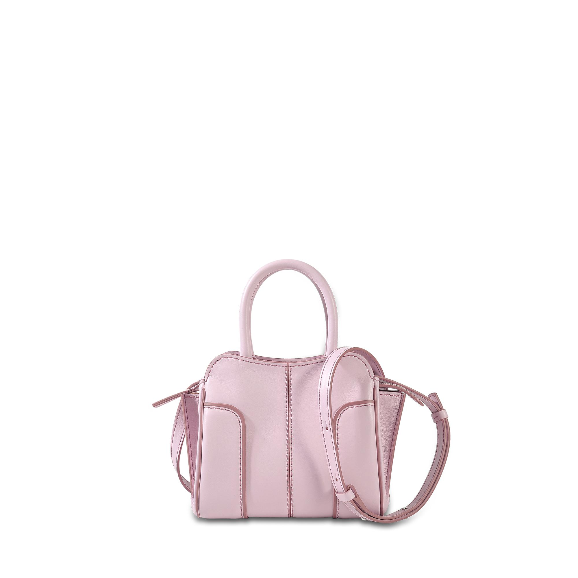 Sella Micro Bag in Lilac Grace Lux Calfskin Tod's 97Rkd