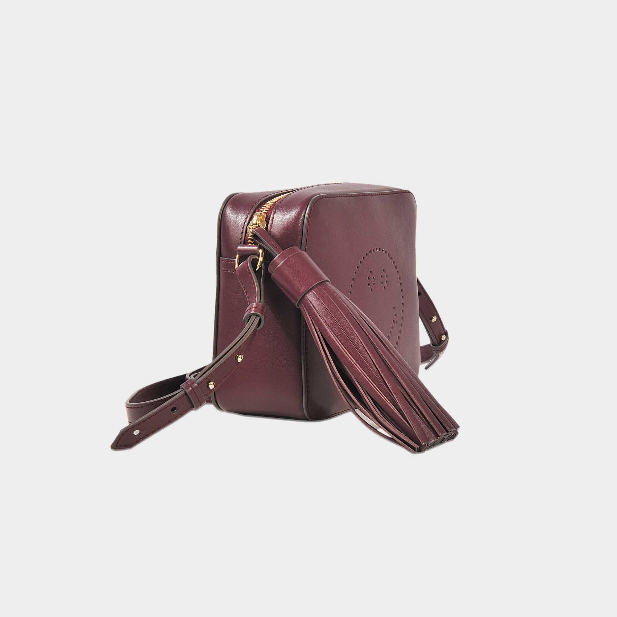 Anya Hindmarch Smiley Crossbody Bag in Purple