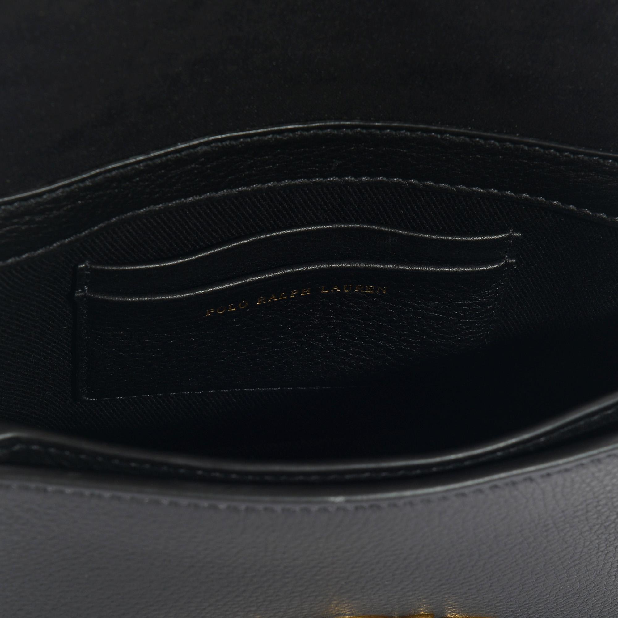 10e04d0557163 Lyst - Petit sac à main porté travers brooke en cuir de veau noir ...