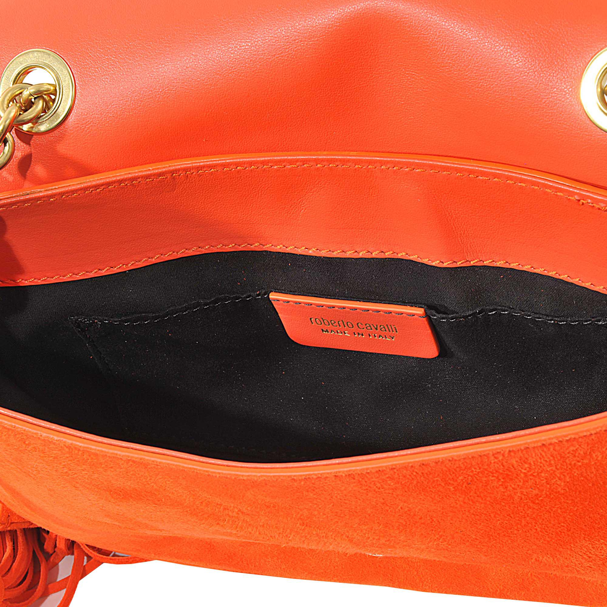 Flap Pompon bag Roberto Cavalli Zj2TQ8IIFF