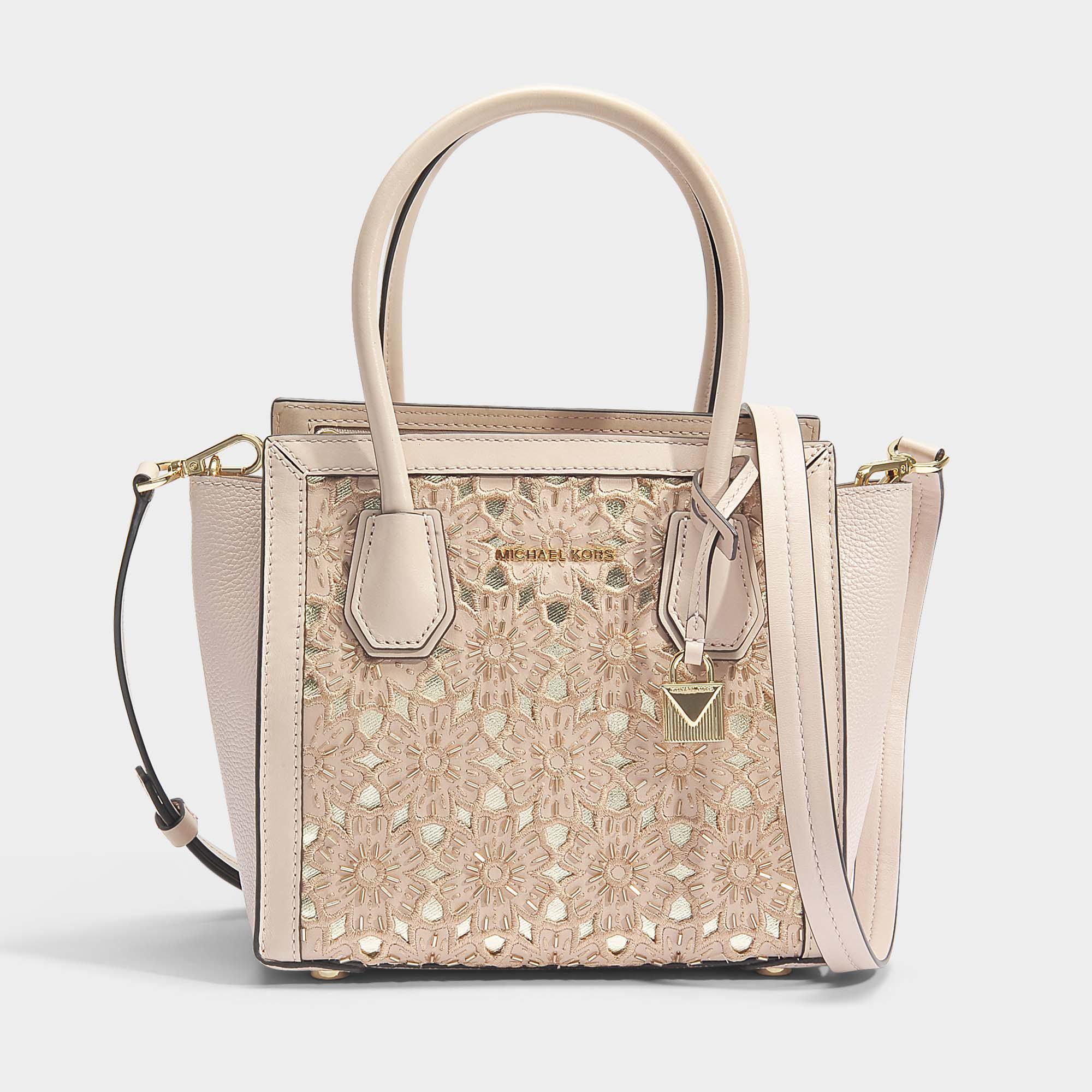 677ac0c26da5 Lyst - MICHAEL Michael Kors Mercer Studio Medium Messenger Bag In ...