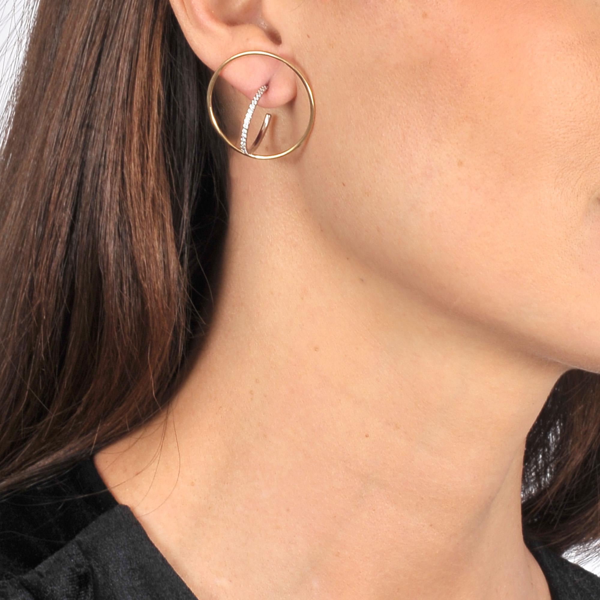 Charlotte Chesnais Saturn M Mono Earring