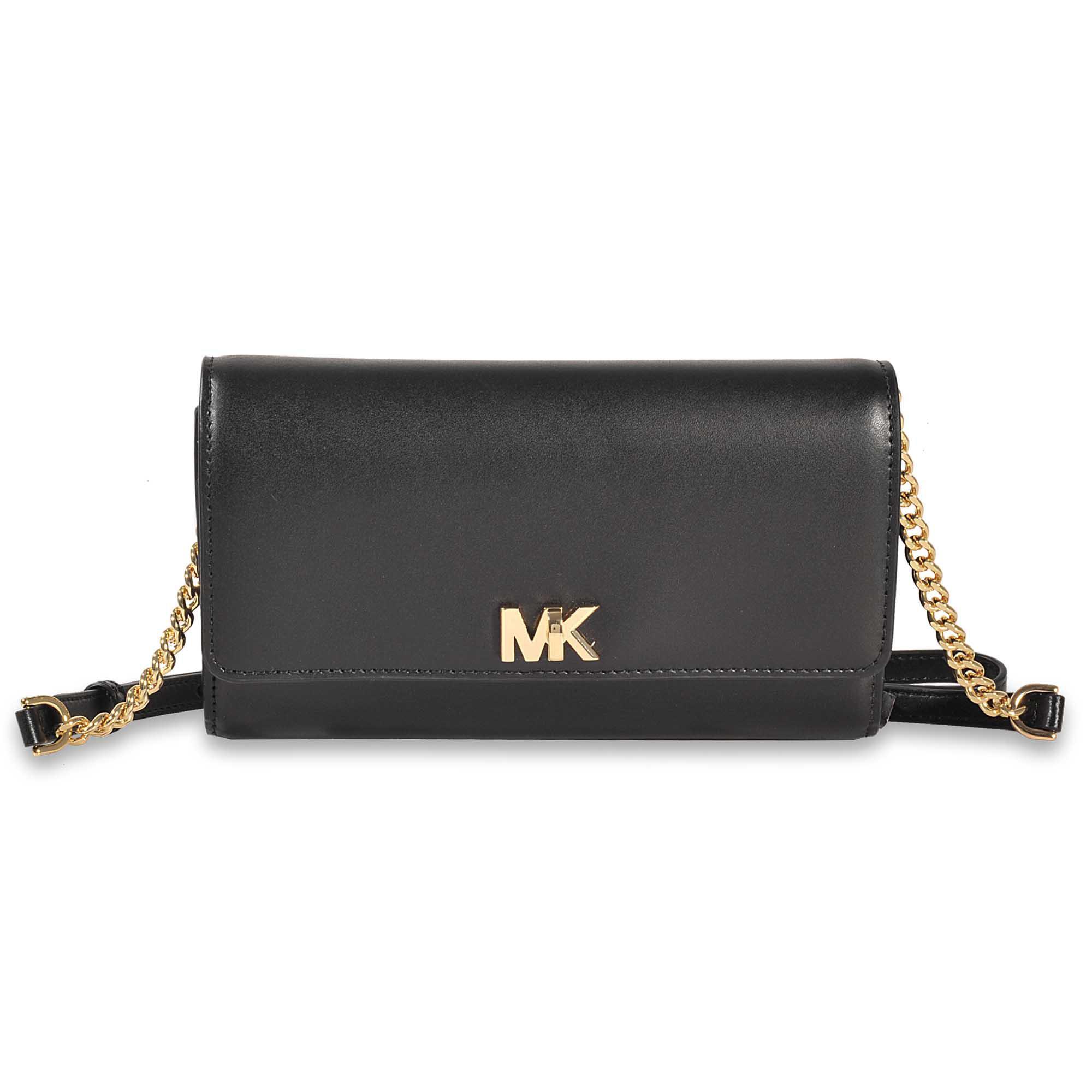 cc5a49d166a1 MICHAEL Michael Kors Mott Xl Wallet Clutch in Black - Lyst