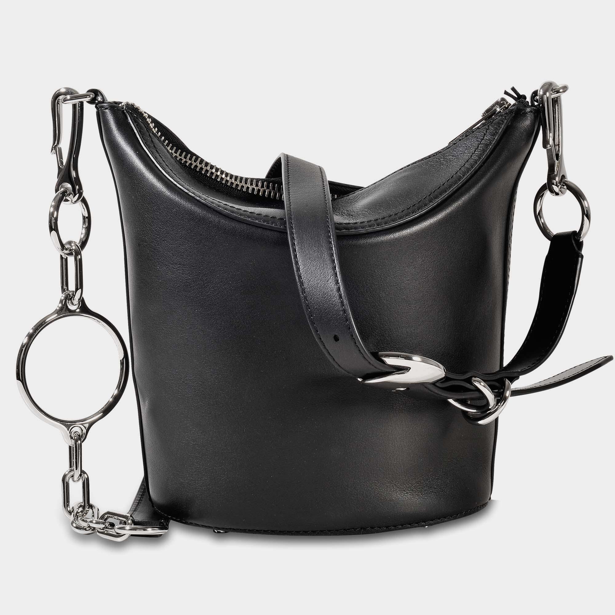 Alexander Wang Ace Crossbody Bag In Black Cowskin